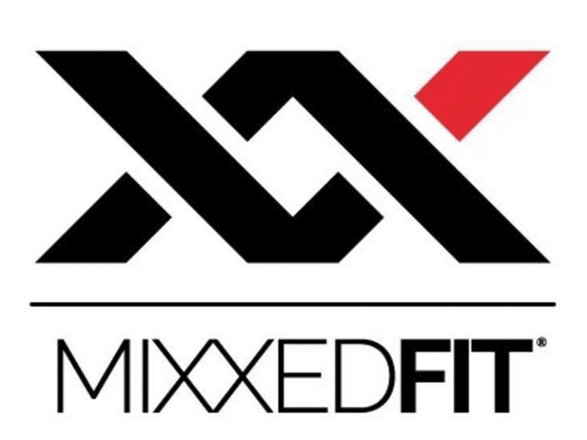 MixxedFIT Logo Trainerin Sandra Schmid